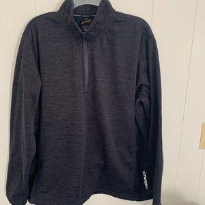 EUC Head shirt - size XL-dark blue - zipper front